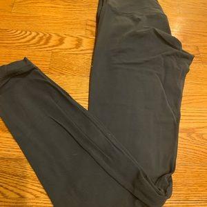 LULULEMON blue align leggings size 6 lightly worn